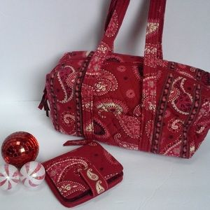Vera Bradley Handbag and Wallet